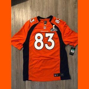 NFL Official Super Bowl XLVIII Wes Welker Jersey